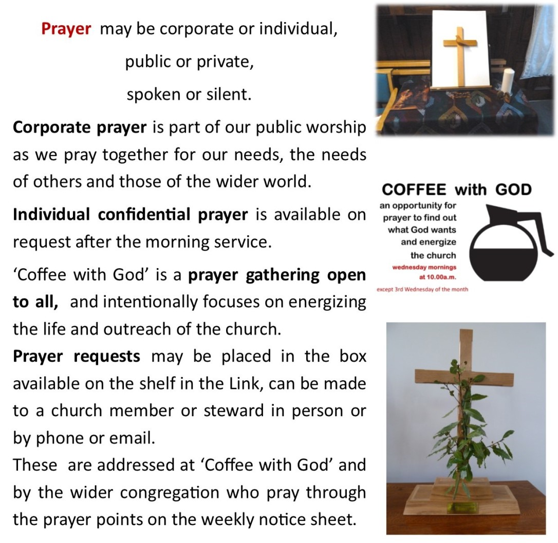 SEO What we do page Prayer